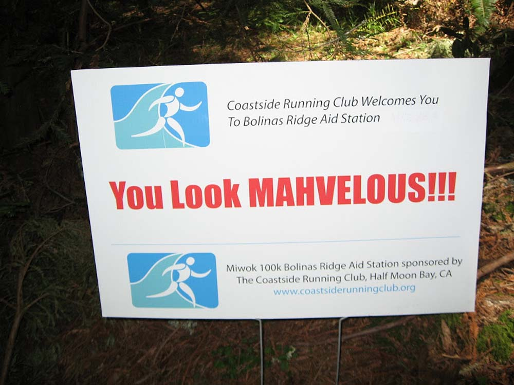 Miwok Bolinas Ridge sign