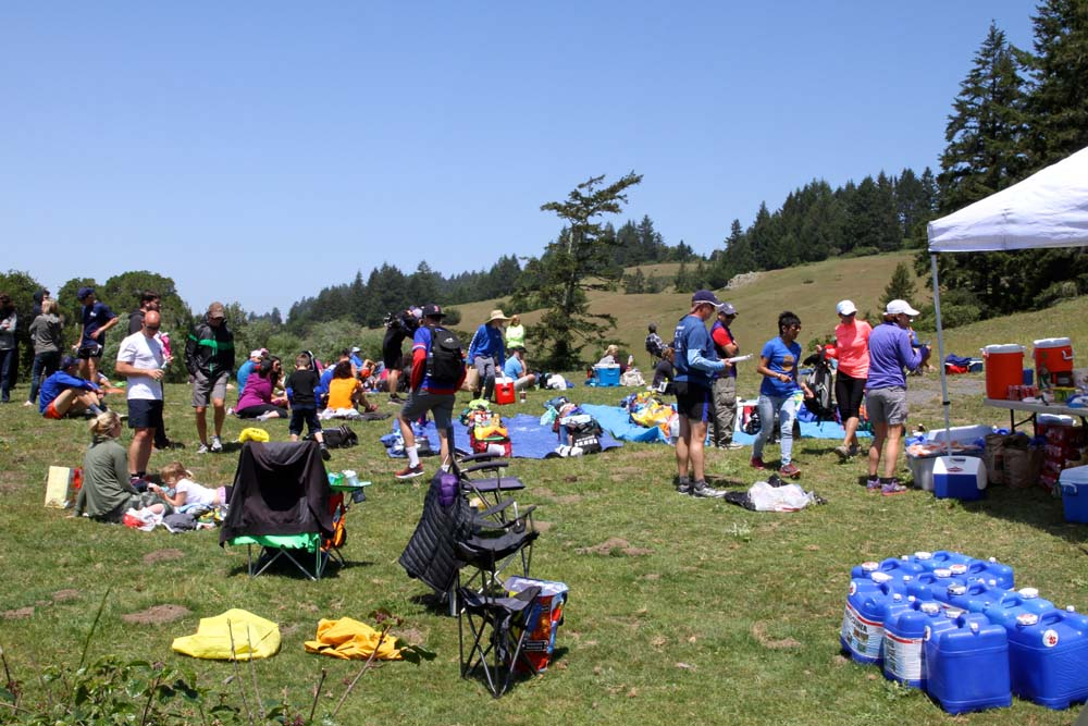 Miwok Picnic at Randall, Photo By SL