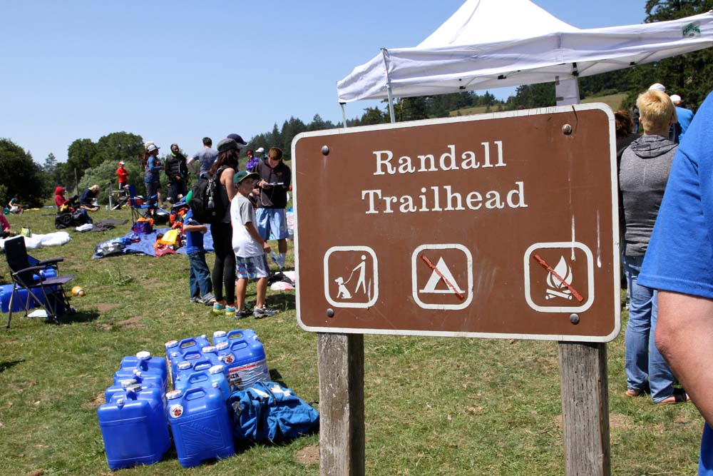 Miwok Randall Trailhead Sign, photo by SL